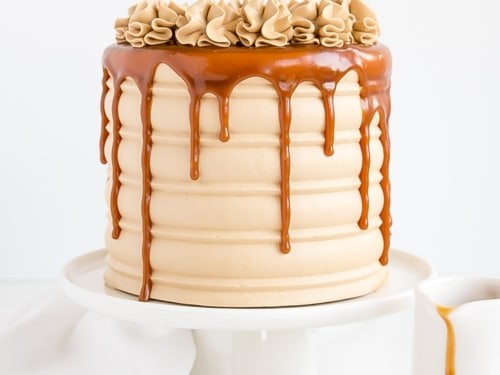 Surprising Caramel Cake Salted Caramel Cake Liv For Cake Personalised Birthday Cards Sponlily Jamesorg