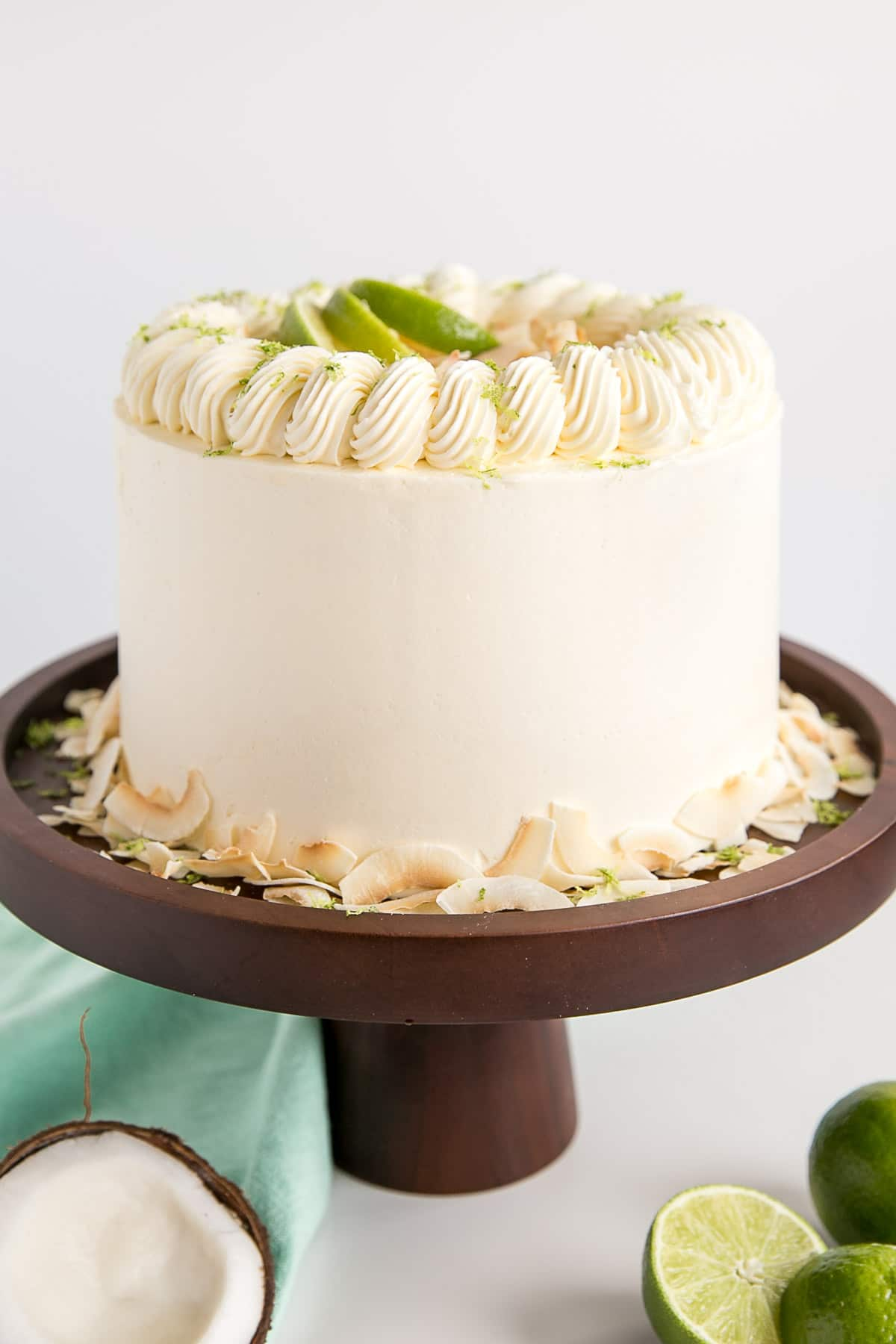 Lime Amp Coconut Cake Liv For Cake