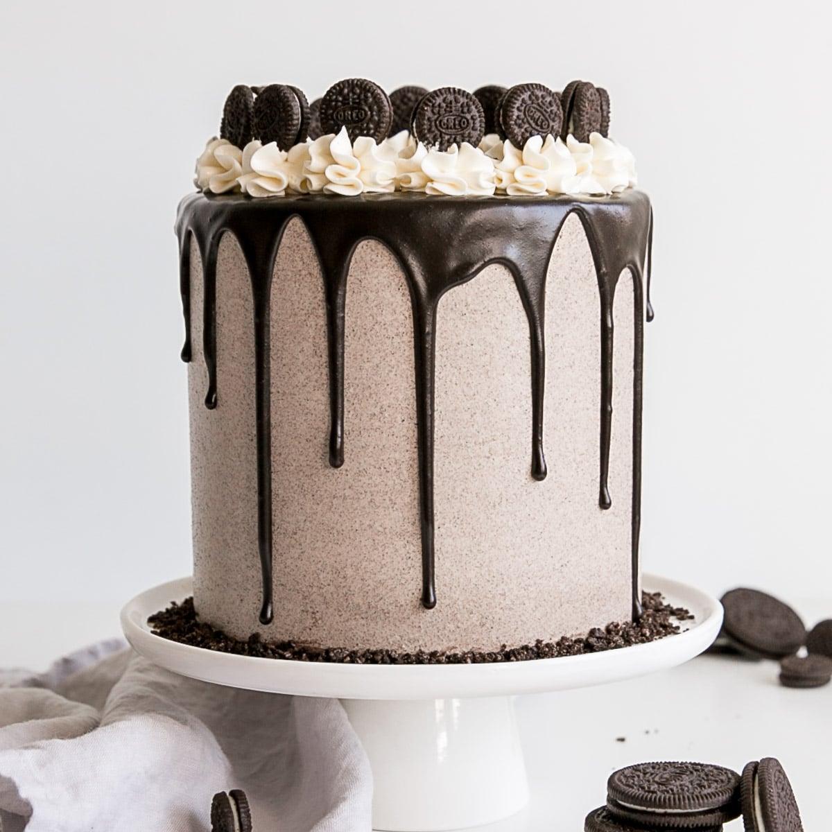 Pleasant Oreo Cake Liv For Cake Funny Birthday Cards Online Overcheapnameinfo