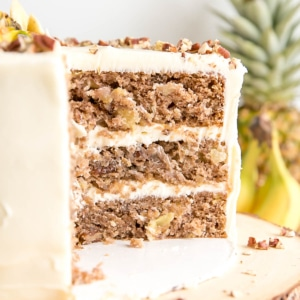 cross section of a cake