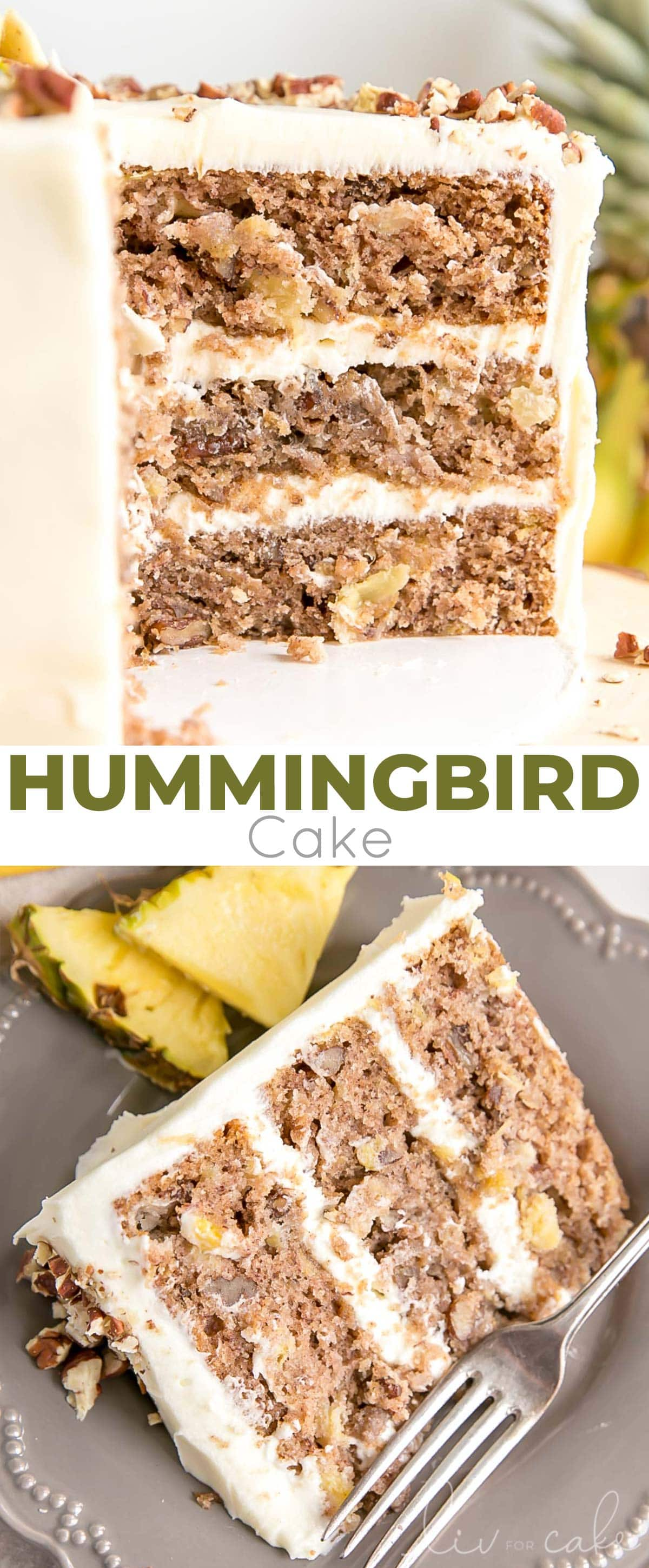 Hummingbird Cake photo collage