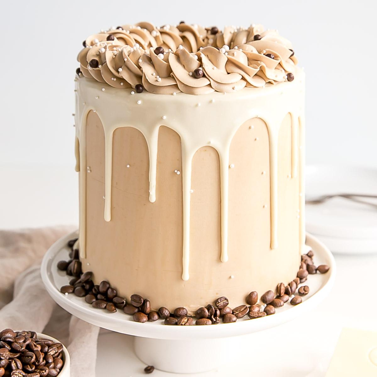 White Chocolate Mocha Cake Liv For Cake
