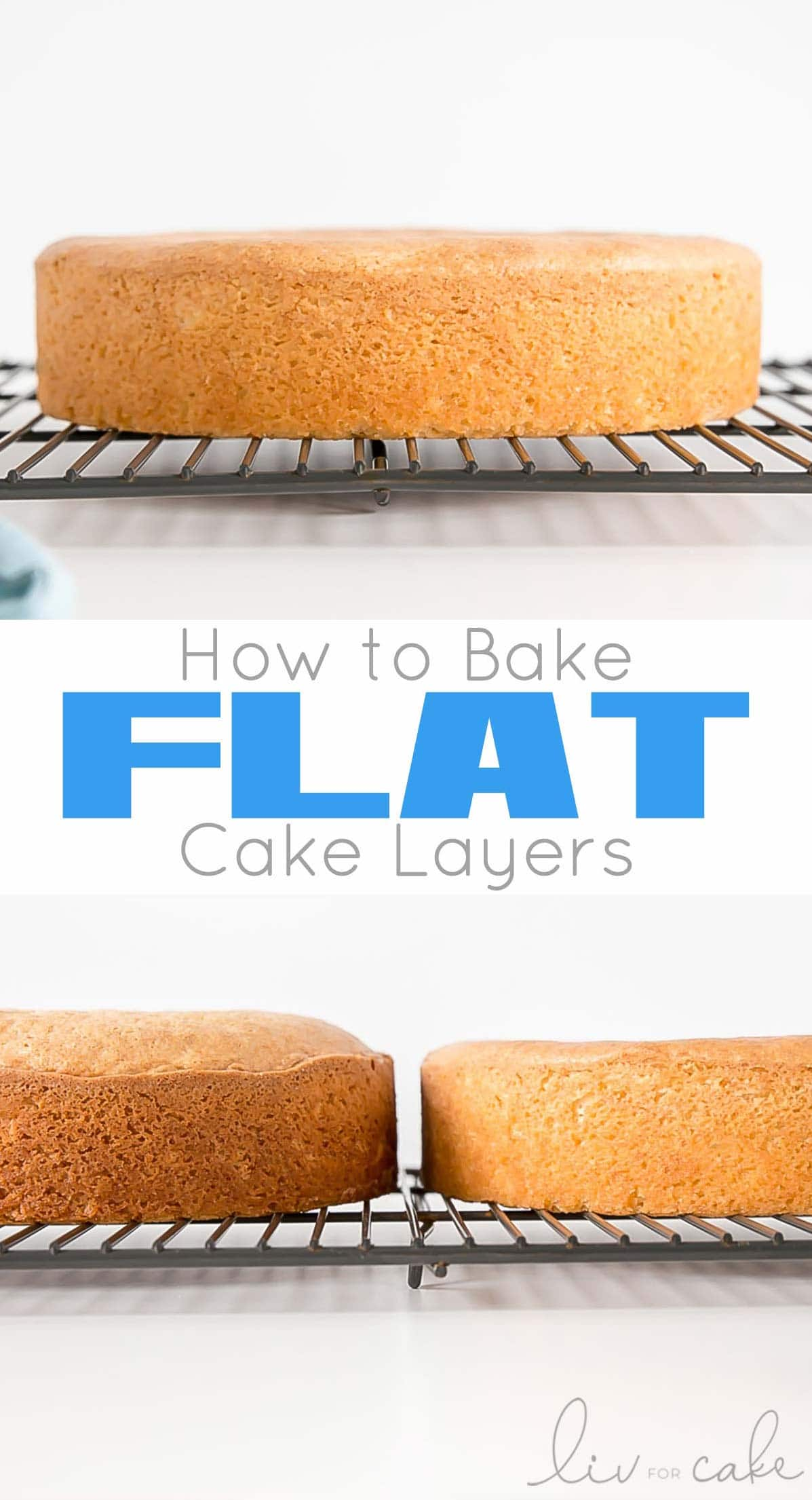 How to Bake Flat Cakes collage